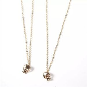 Skull Fearless Necklace
